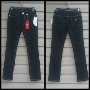 Girls Guess Daredevil skinny leg jeans